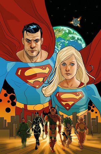 Superman & Supergirl  - superman Photo