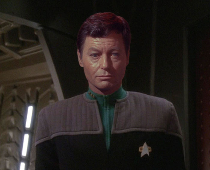 TOS in DS9 uniforms
