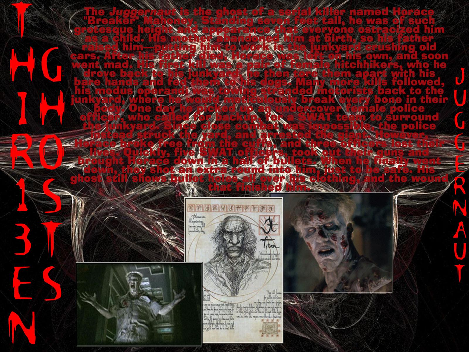 13 ghosts the juggernaut