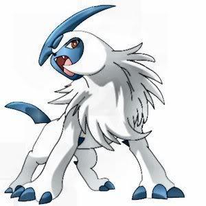 The dark type pokemon Absol