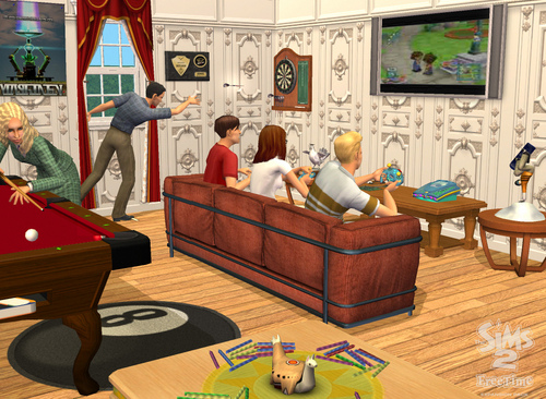 The sims 2 freetime