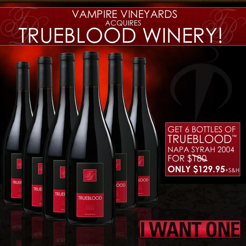 True Blood Wine
