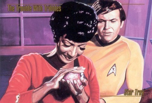 Uhura&Chekov - The Trouble With Tribbles