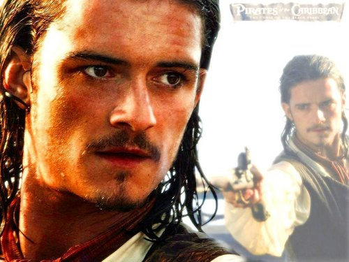 Pirates of the Caribbean wallpaper containing a portrait called Will Turner