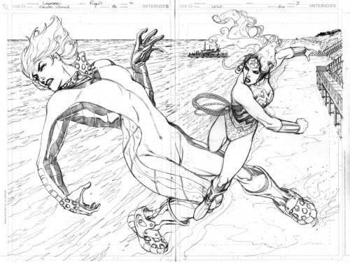 Wonder Woman #36 page
