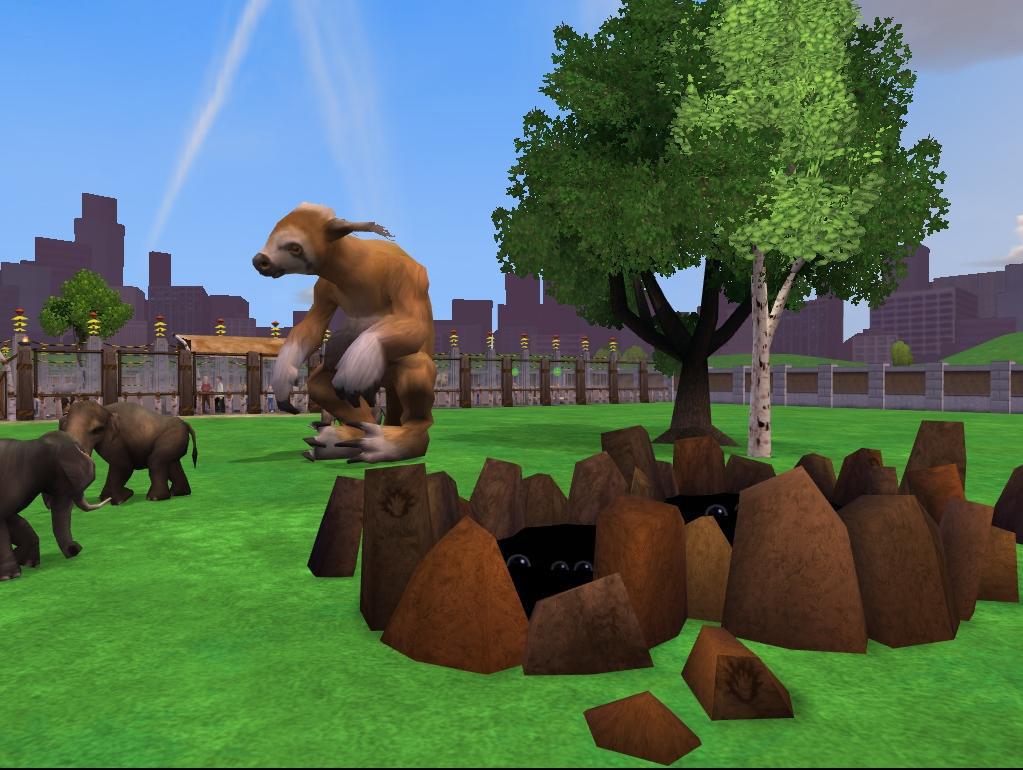 zoo tycoon how to take lhoto