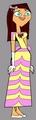 carly in TDIOHSHC uniform - total-drama-island fan art