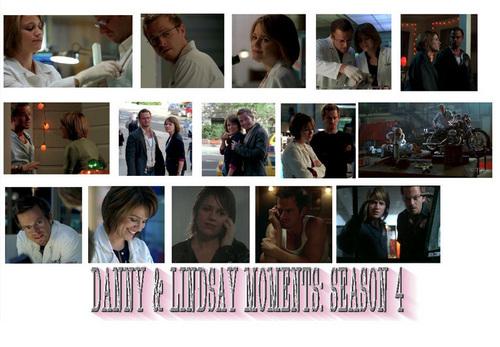 danny and lindsay season 4 moments