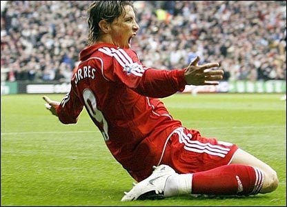 Fernando Torres achtergrond possibly with a hekje, wicket titled fernando torres