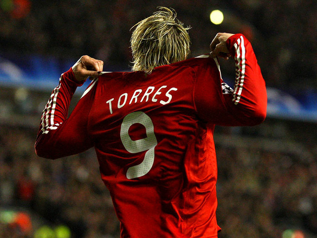 liverpool's number 9 :D