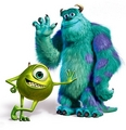 mike and sully  - monsters-inc photo
