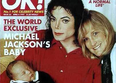 ok magazine of prince,michael,and debie