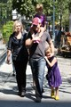 peter financelli out in vancouver with family - twilight-series photo