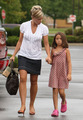 Mother-Daughter Day for Kate and Cara Gosselin
