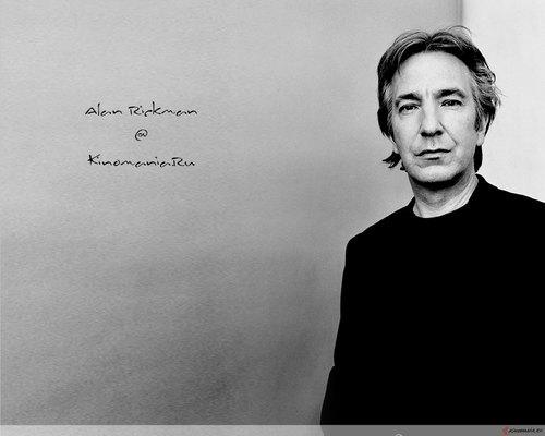 Alan Rickman / Wallpaper