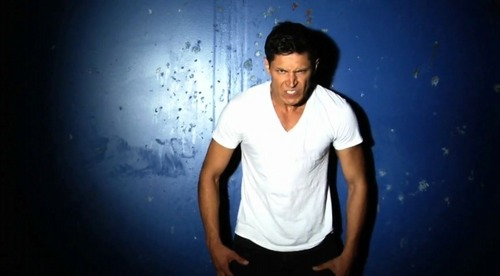 Alex Meraz photo shoot by Tyler Shields