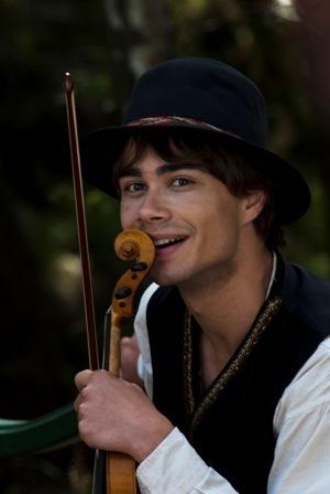"Alex in the film ""Yohan"""