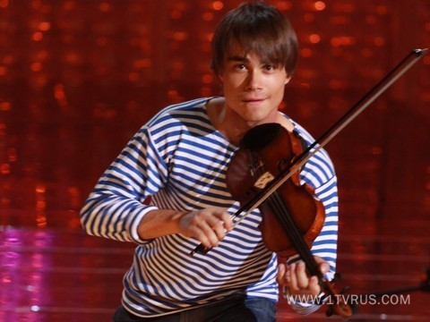 "Alex on Russian TV-show ""Moment of Glory"""