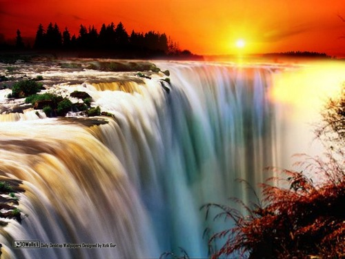 national geographic wallpaper probably containing a dam, a weir, and a glory hole entitled Amazing Nature wallpapers