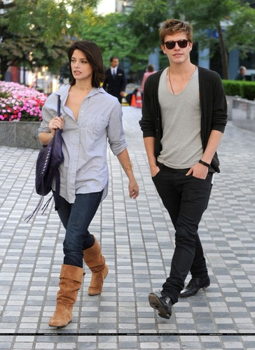 Ashley Greene & Xavier Samuel à Vancouver