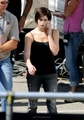 Ashley on set for Eclipse - alice-cullen photo