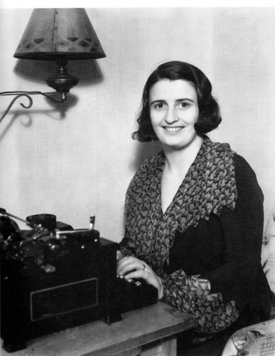 Ayn Rand typing