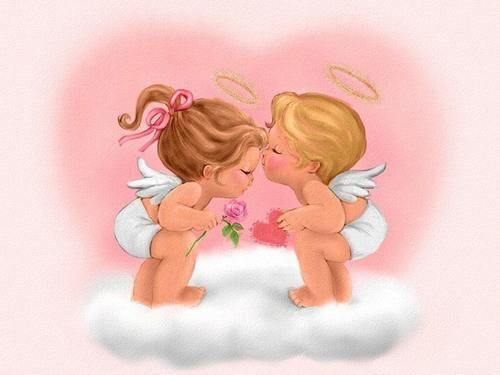 bebés ángeles