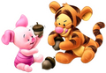 Baby Tigger and Piglet - winnie-the-pooh photo