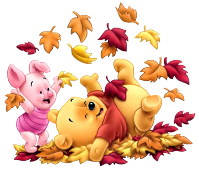 Pu der Bär Hintergrund titled Baby Winnie and Piglet