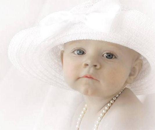 Baby door Anne Geddes