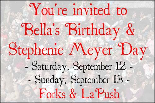 Bella's Birthday