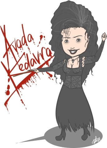 Bellatrix Lestrange karatasi la kupamba ukuta possibly with anime titled Bellatrix Lestrange