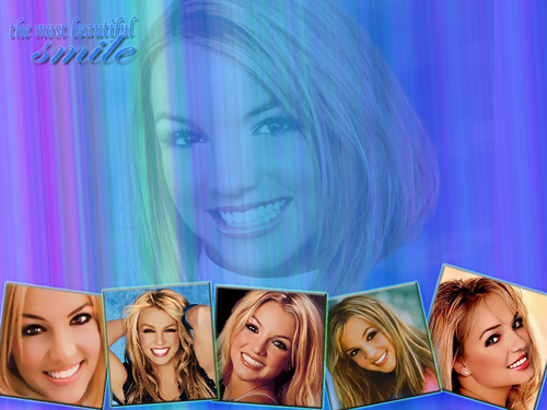 Brit has the most beautiful smile/ by niloofar