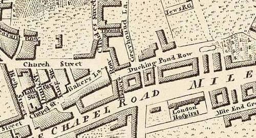 Bucks Row 1802