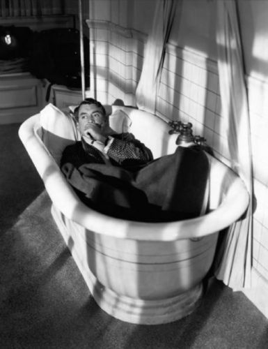 Cary Grant In The Bath Tub