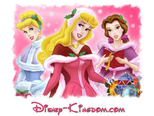 Cinderella, Aurora and Belle