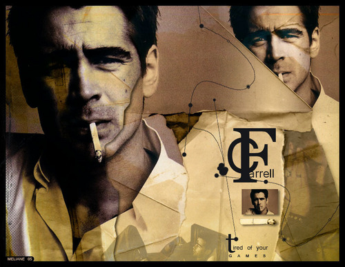 Colin Farrell wallpaper possibly with a sign called Colin Farrell