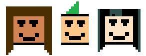 Courtney, Duncan and Gwen 8-bit