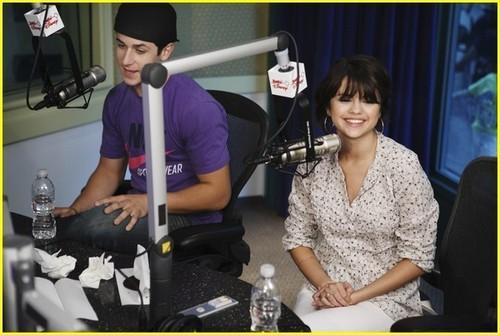 David Henrie & Selena Gomez
