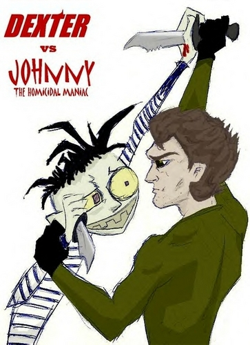 Dexter VS Johnny The Homicidal Maniac