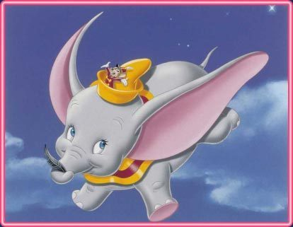 Disney wallpaper titled Dumbo