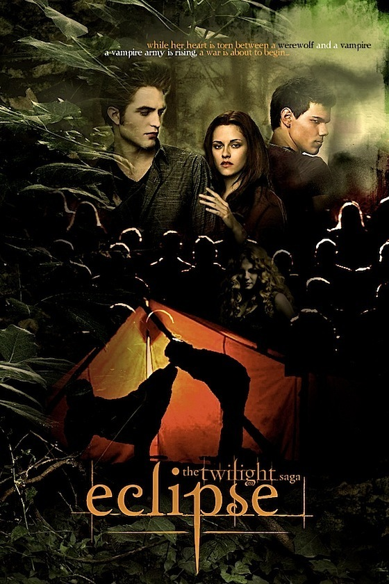 Eclipse and new moon fanmade posters