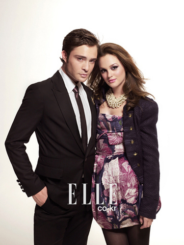 Ed & Leighton; ELLE photoshoot
