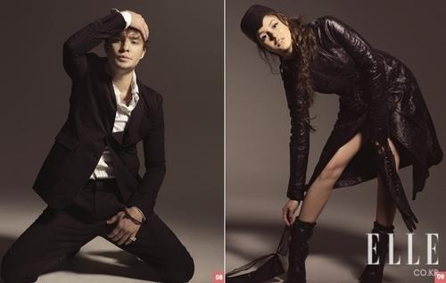 Ed & Leighton Elle Korea