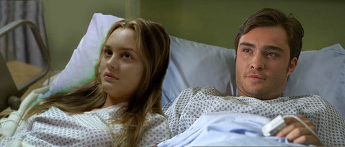 Ed & Leighton in hospital