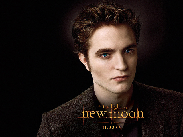 Edward Cullen Blue Eyed!