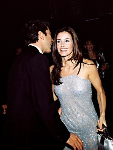 Ross and Monica Geller achtergrond entitled F*R*I*E*N*D*S
