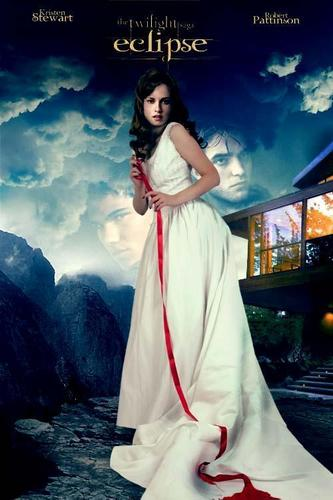 Eclipse wallpaper containing a gown and a dinner dress called Fanmade Eclipse Poster