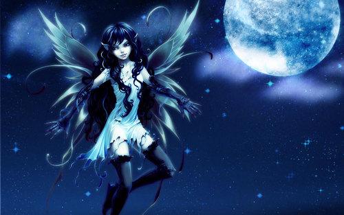 Magical Creatures fondo de pantalla titled hadas