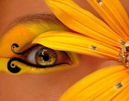 Flower eyes - eyes Photo